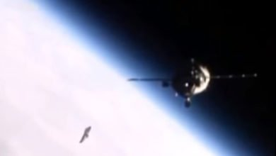 Photo of Video: A UFO Following the International Space Station?