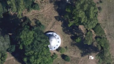 Photo of Google Maps Anomalies: The UFO That Wasn't