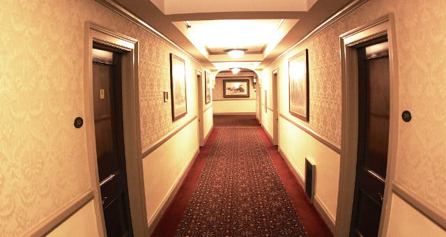 The haunted corridors of the Stanley Hotel