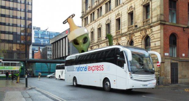 Alien Caught On Bus