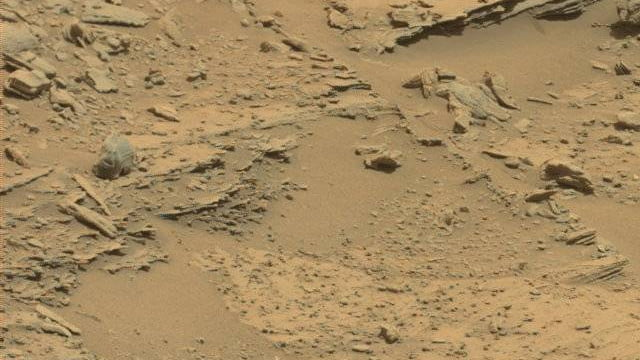 An Alien Skull On Mars?