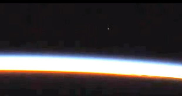 NASA ISS UFO 2016