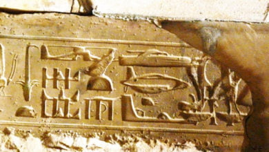 Photo of Are These Hieroglyphs Proof of Real Time Travel?
