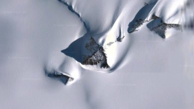 Photo of Google Maps Anomalies: Pyramids (Or An Alien Base?) In Antarctica