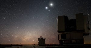 """Celestial Conjunction at Paranal"""