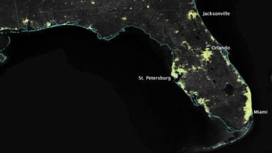 Photo of Residents Across Florida Report Multiple UFO Sightings In One Evening