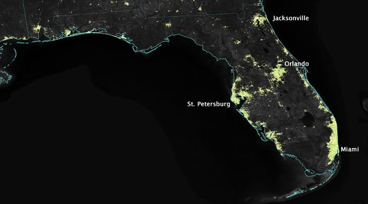 Residents Across Florida Report Multiple Ufo Sightings In
