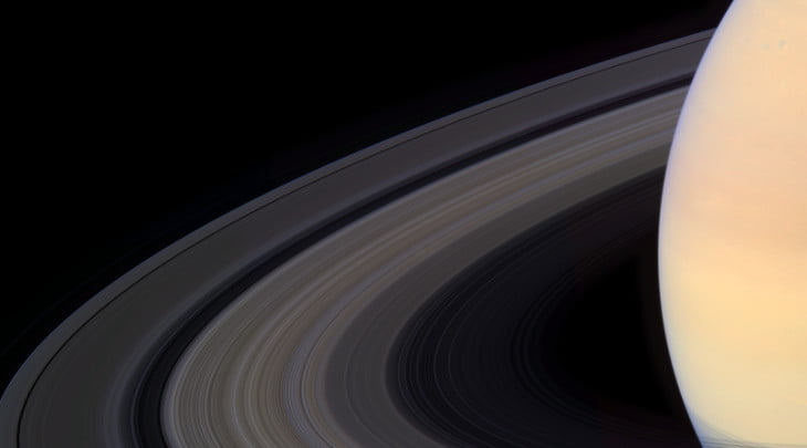 The Alien Rings Of Saturn