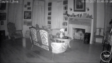 "Photo of Ghostly ""White Vortex"" Captured During Texas Hotel Investigation"