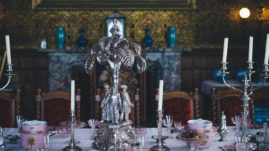 Photo of Did Spirits Return Missing Candlesticks to Ripley Castle?