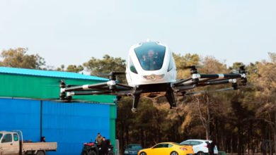 Photo of Video: Successful Flight Tests of Ehang 184 Manned Passenger Drone