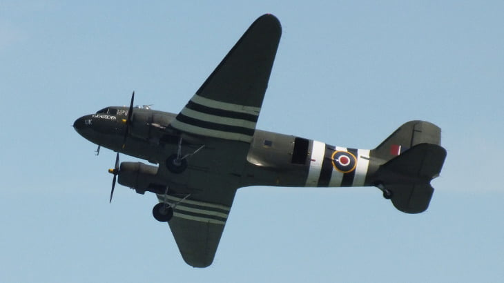 """Ghost Plane"" Over Derbyshire Returns, RAF Says Not To Worry"
