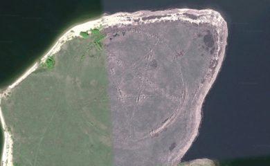 Google Maps Anomalies: The Pentagram Of Kazakhstan
