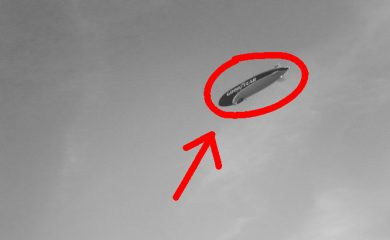 Goodyear Blimp Mystifies Resident Of North Carolina