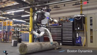 "Photo of Boston Dynamics Shows Off ""Parkour Atlas"" Robot"