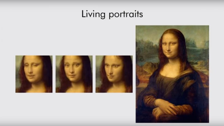 The Mona Lisa brought to life