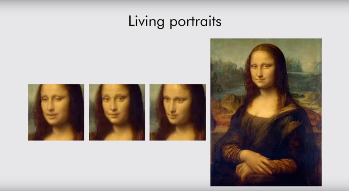 The Mona Lisa brought to life