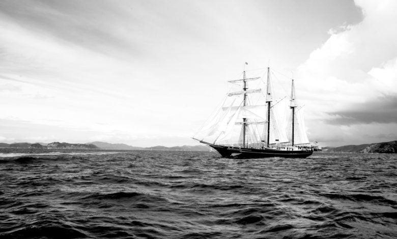 A ghost pirate ship?