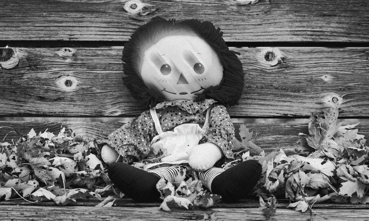 A Raggedy Ann doll not unlike the demon-attached Annabelle