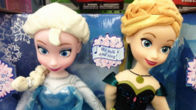 Photo of Mysterious Elsa Doll Ironically A Bit Clingy, Has Trouble Moving On