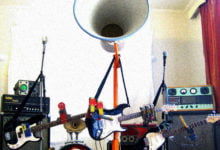 Photo of The Trons: The Hottest Robot Garage Band of 2008
