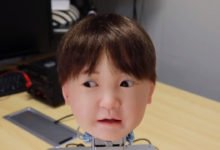 Photo of Affetto the Child Robot: Realistic Facial Expressions and Artificial Pain
