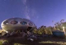 Photo of An Incredible Milky Way Timelapse Over the Frisco UFO