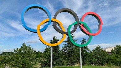 The Olympics rings