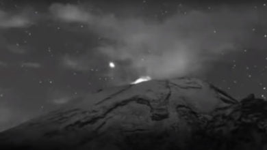 Photo of Another 'UFO' Spotted At Mexico's Popocatepetl Volcano