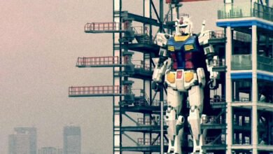 Photo of Japan's Full-Size Gundam Performs Motion Test