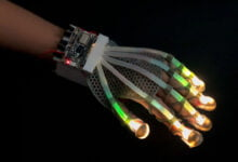 "Photo of Stretchable Fiber-Optic ""Skin"" Gives Robots A Sense Of Touch"
