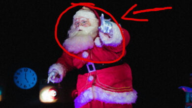 Photo of Santa Sightings: Do Sleigh Bells Signal A Visit From Old St. Nick?