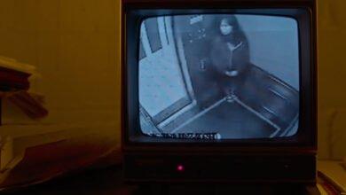 Elisa Lam in the elevator