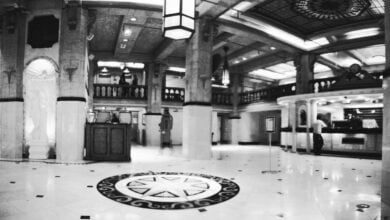 Lobby of the Cecil Hotel