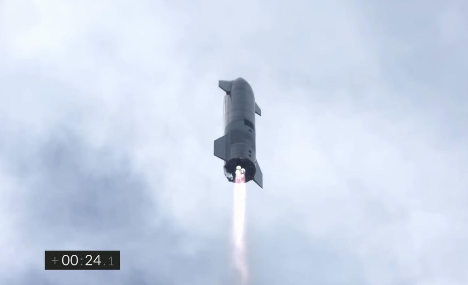 SN10 launch