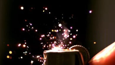 Photo of Video: A Lighter In SlowMo Looks Like Fireworks