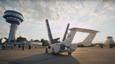 Photo of AirCar Prototype Performs 35 Minute Inter-City Flight